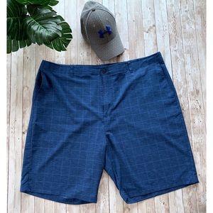 Ben Hogan plaid classic Bermuda shorts